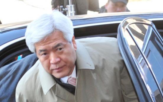 Ex-police chief faces arrest in bribery case