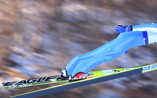 Ski jumper Pungertar wins FIS Continental Cup title in PyeongChang