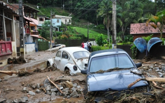 Torrential rain, mudslides in Brazil kill 257