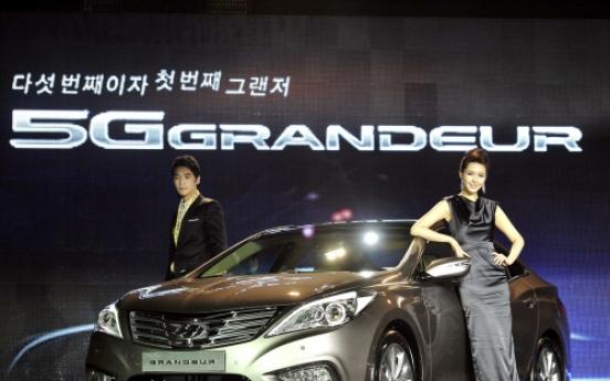 Hyundai unveils new Grandeur