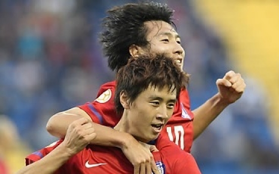 South Korea and Australia share spoils