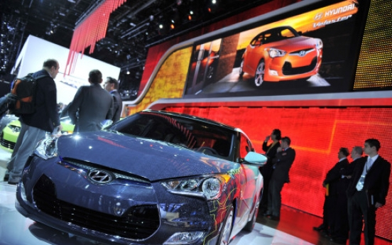 Korean firms aim for further gains at Detroit Motor Show