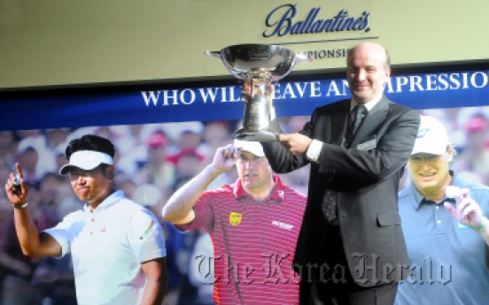 Golf stars line up for Ballantine's Championship