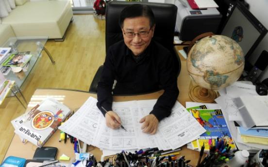 Writing on world to see Korea anew