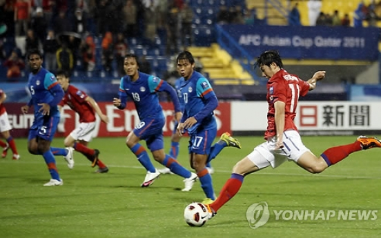 South Korea sink India to set up Iran showdown