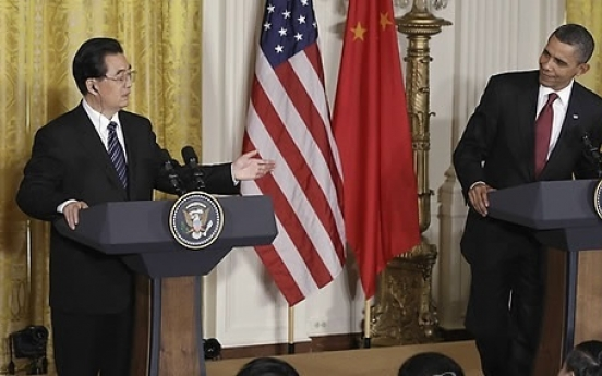 Obama, Hu call on N. K. to stop provocations
