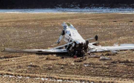 Two killed in collision of light planes