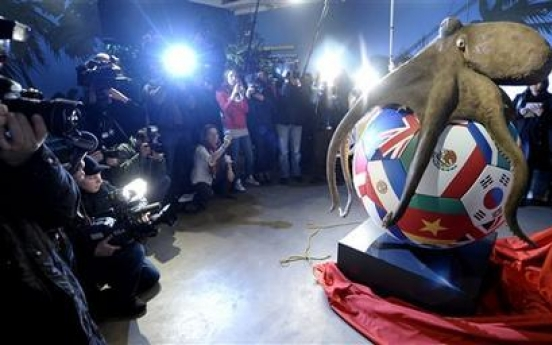 Tentacled tipster Paul the Octopus gets memorial