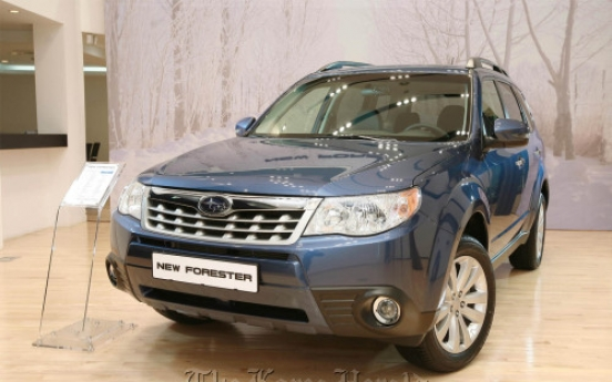 Subaru launches 2011 Forester