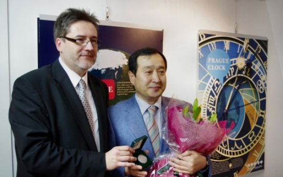 Czech government honors PIFF father