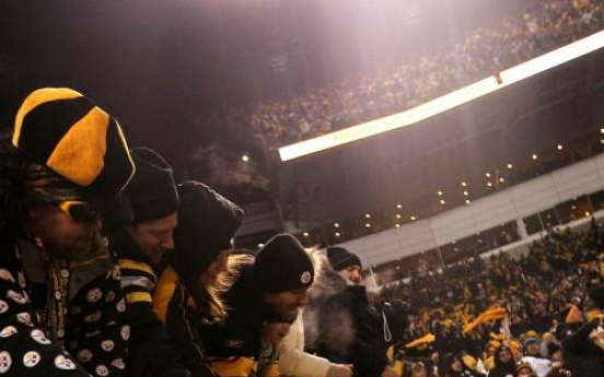 Pittsburgh Steelers rumble to AFC championship