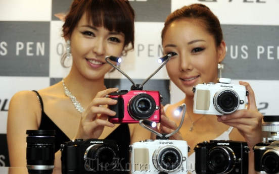 Olympus launches new hybrid camera
