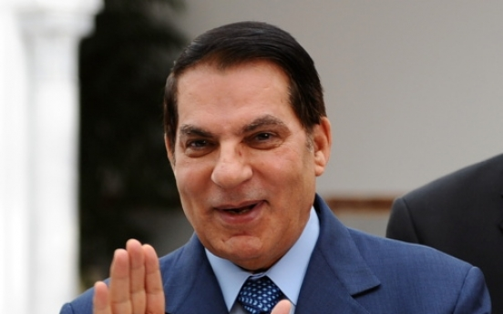 Tunisia issues int'l warrant for ex-ruler