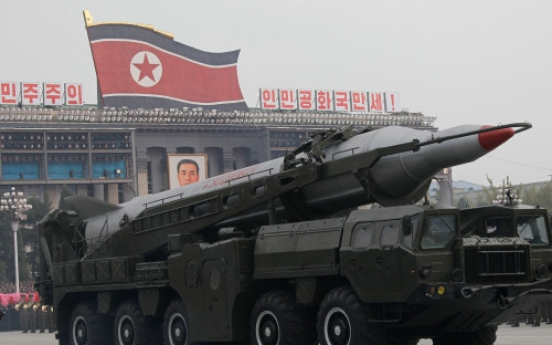 N. Korea to develop nuclear-capable ICBMs within decade: Adm. Mullen