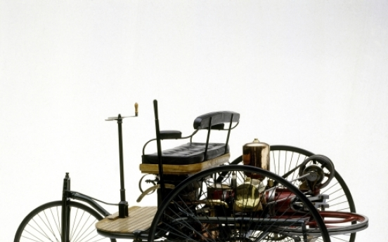 The tricycle that roared ― world's first car weighed-in 125 years ago
