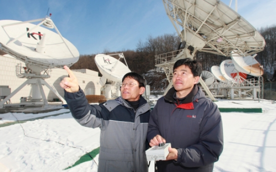 KT's new broadcast satellite begins operation