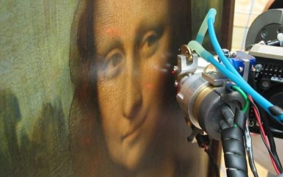 Male model behind the Mona Lisa, expert claims