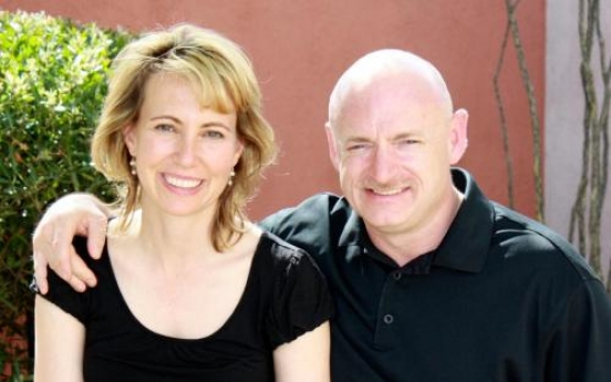 Giffords' recovery prompts husband to space