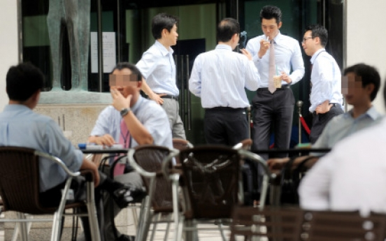 Public puffing increasingly difficult in Korea