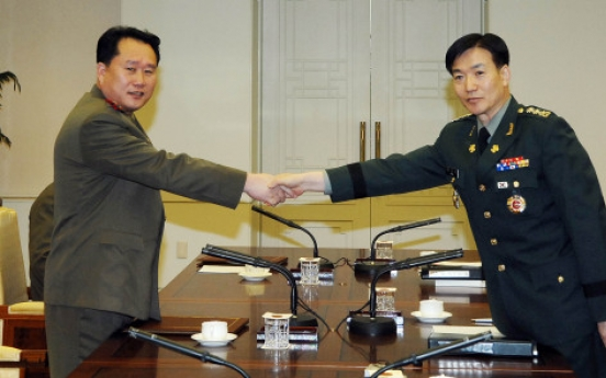 Two Koreas fail to narrow differences, agree to hold another talks Wednesday