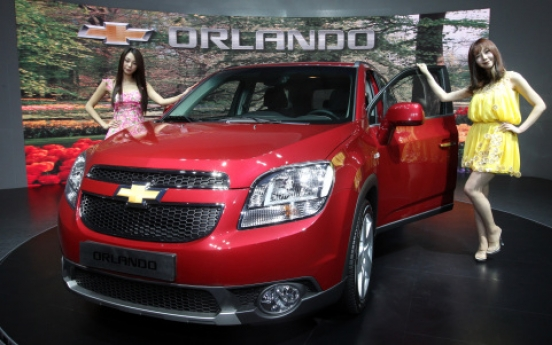GM Daewoo launches all-new Orlando in S. Korea