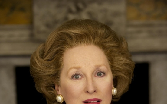 Actress Meryl Streep  transformed  as ex- Prime Minister Margaret Thatcher