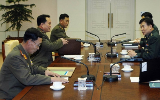 N. Korean military says it won't meet with reluctant S. Korea