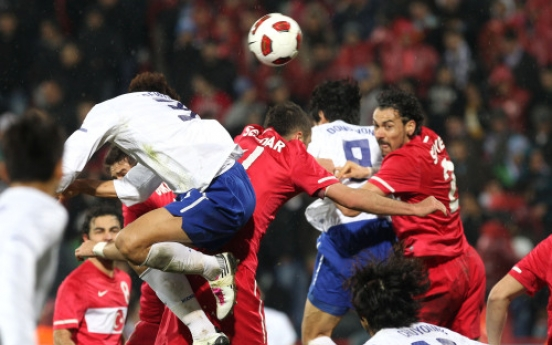 S. Korea, Turkey draw 0-0 in football friendly