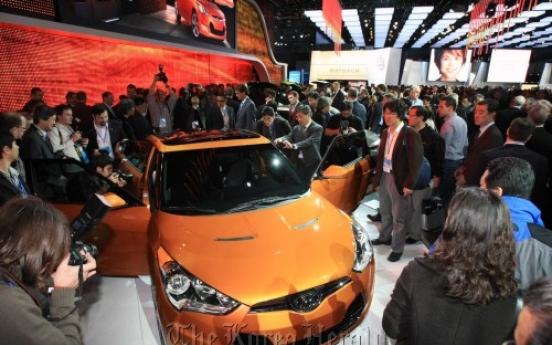 Hyundai begins marketing programs for Veloster