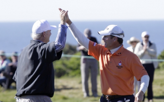 Marino, Points share top spot at Pebble