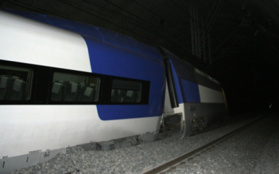 KTX bullet train derails near Seoul
