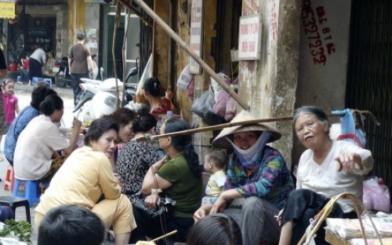 Old Quarter connects to past in bustling Hanoi