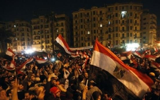 Mubarak leaves and Egypt celebrates