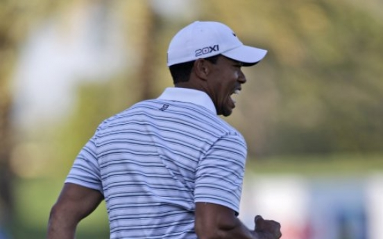 Tiger cuts deficit to 1 in Dubai