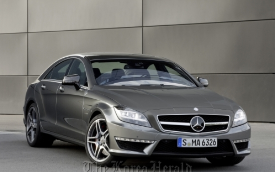 Power package makeover for new Mercedes CLS 63 AMG
