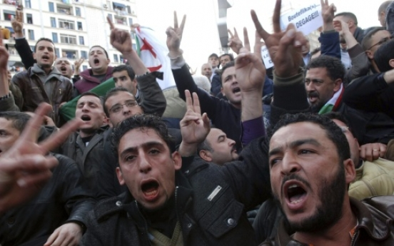 Egypt-inspired protests spread to Algeria, Yemen