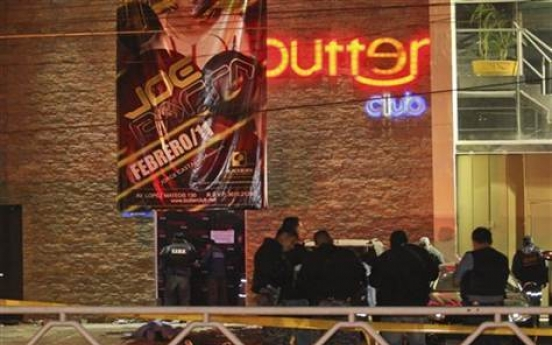 6 dead, 37 injured in attack on Mexican nightclub