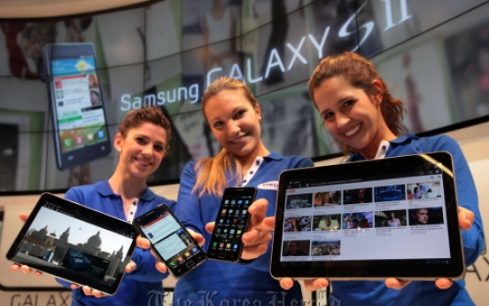 Samsung unveils upgraded Galaxy S, Galaxy Tab