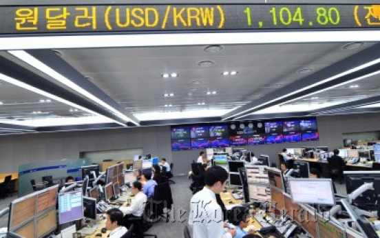 Korea's foreign sell-off heaviest in Asia