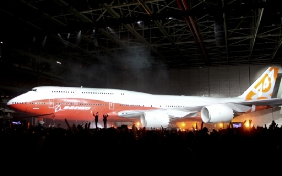 Boeing's new 747-8 Intercontinental