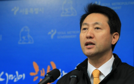 Mayor Oh vows to proceed with pet projects