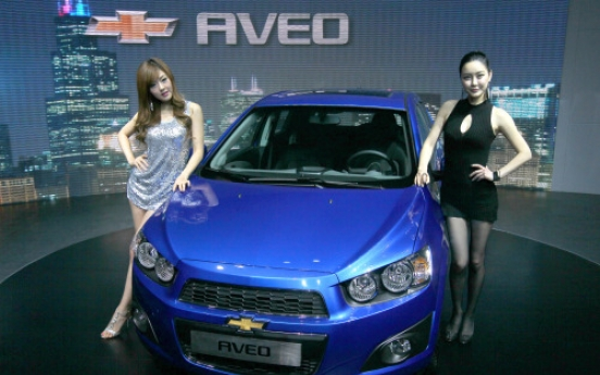 GM Daewoo unveils all-new Chevrolet Aveo