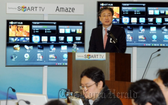 Samsung launches new 3-D smart TVs