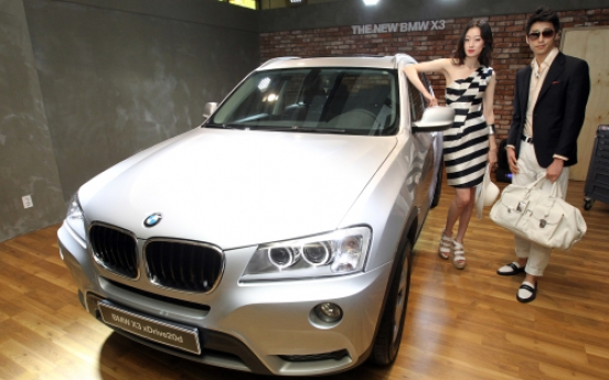 BMW launches all-new X3 in S. Korea