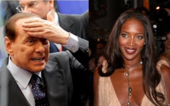 Brown's wife recalls Berlusconi's eye for Campbell