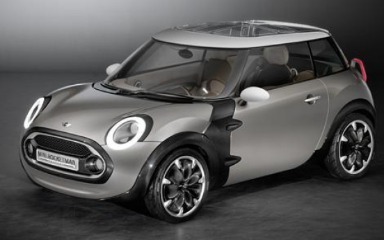 BMW to debut smaller Mini at Geneva motor show