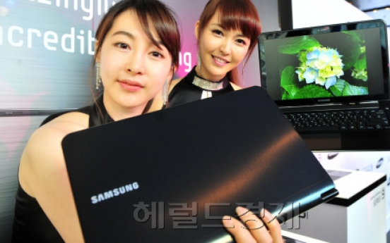 Samsung eyes 6th place in laptop market
