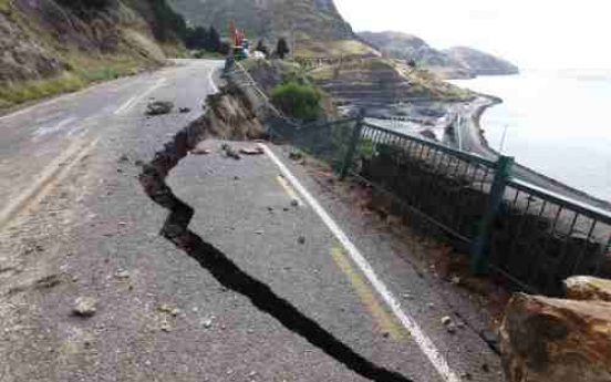A huge quake that hit Christchurch in NZ