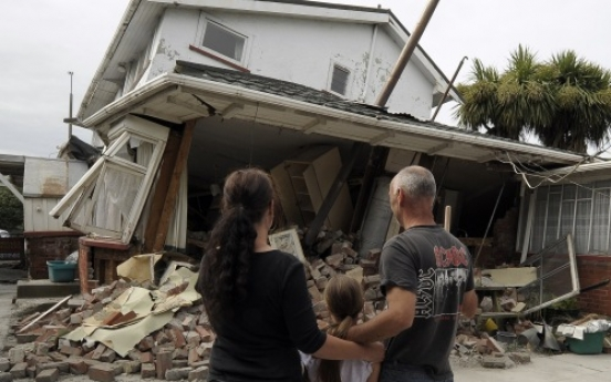 N. Zealand prays for quake victims