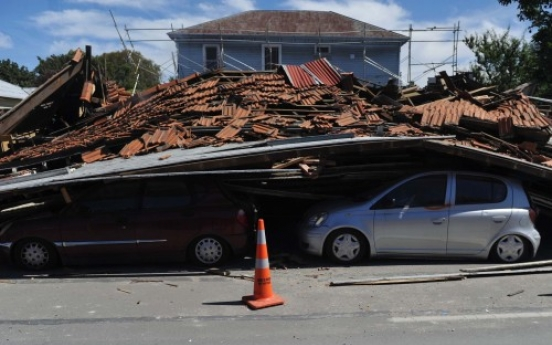 New Zealand police launch search for S. Koreans missing in quake